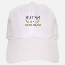 Autism Is My Super Power! Baseball Baseball Cap