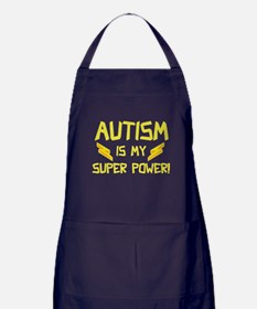 Autism Is My Super Power! Apron (dark)