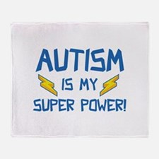 Autism Is My Super Power! Stadium Blanket