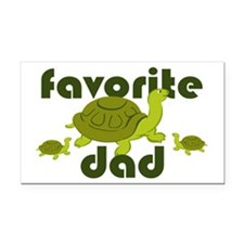 Favorite Dad Rectangle Car Magnet