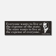 Bastiat State Quote Car Magnet 10 x 3