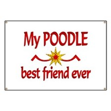Poodle Best Friend Banner