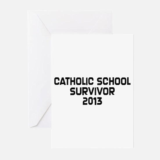 Catholic School Survivor Greeting Cards (Pk of 20)