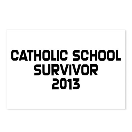 Catholic School Survivor Postcards (Package of 8)