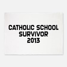 Catholic School Survivor 5'x7'Area Rug