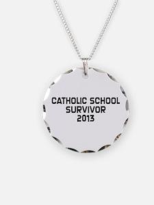 Catholic School Survivor Necklace