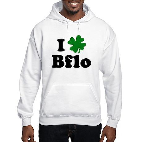 I Shamrock Buffalo Hooded Sweatshirt