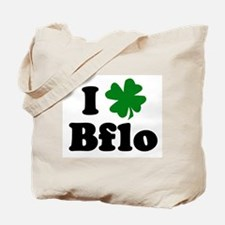 I Shamrock Buffalo Tote Bag