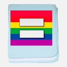 Marriage of Equality baby blanket