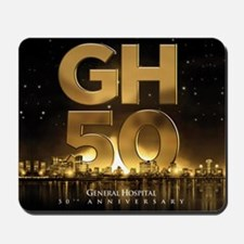 General Hospital 50th Anniversary Mousepad