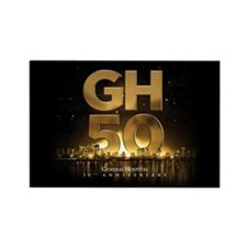 General Hospital 50th Anniversary Rectangle Magnet
