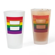 Marriage of Equality Drinking Glass