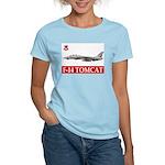F-14 Tomcat VF-102 DIAMONDBAC Women's Pink T-Shirt