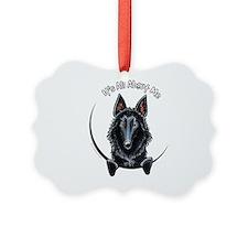 Belgian Sheepdog IAAM Ornament