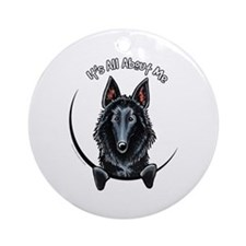 Belgian Sheepdog IAAM Ornament (Round)