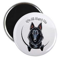 "Belgian Sheepdog IAAM 2.25"" Magnet (10 pack)"