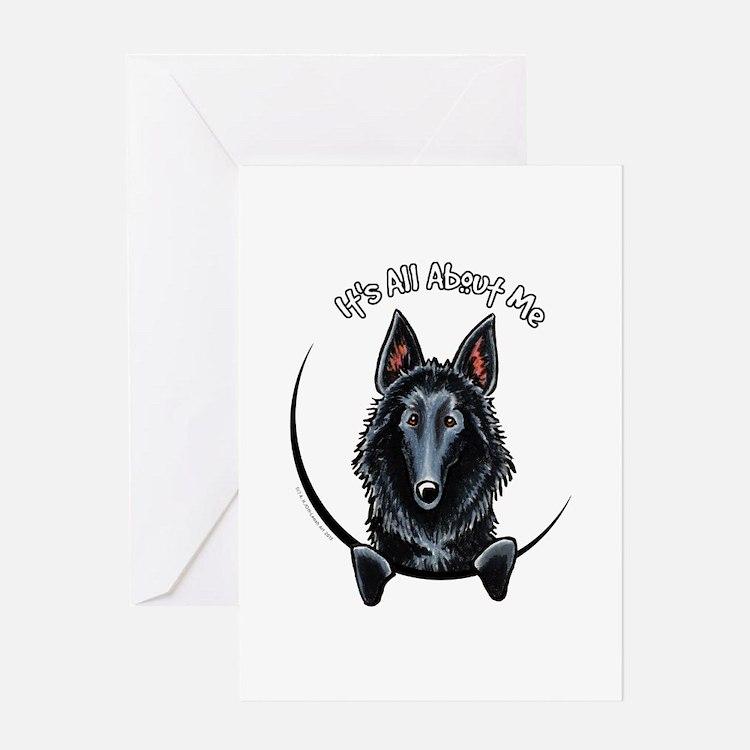 Belgian Sheepdog IAAM Greeting Card