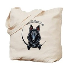 Belgian Sheepdog IAAM Tote Bag