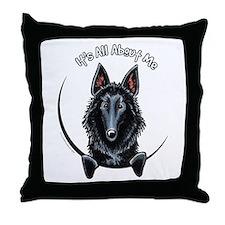 Belgian Sheepdog IAAM Throw Pillow