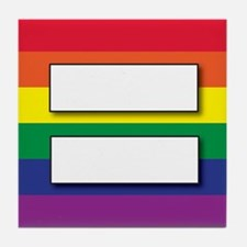 Marriage of Equality Tile Coaster