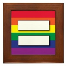 Marriage of Equality Framed Tile