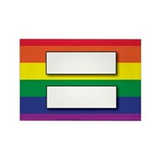 Marriage of Equality Rectangle Magnet