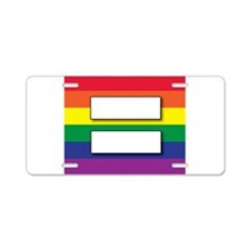 Marriage of Equality Aluminum License Plate