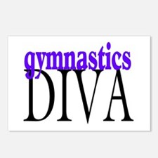 Gymnastics Diva Postcards (Package of 8)