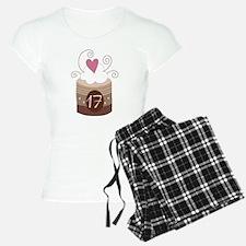 17th Birthday Cupcake Pajamas