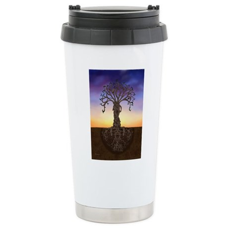 Tree Of Life and Death Travel Mug