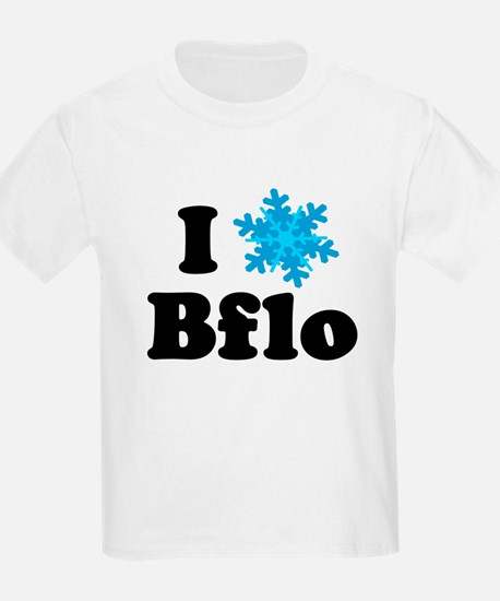 i snowflake buffalo Kids T-Shirt