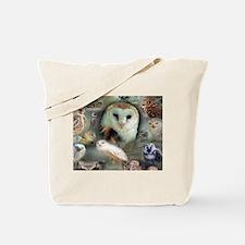 Happy Owls Tote Bag