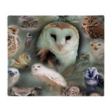 Owl Fleece Blankets