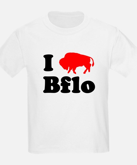 I love Bflo Kids T-Shirt