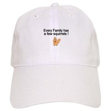 Every Family has a Few Squirrels! Baseball Baseball Cap