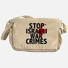 Cute War is a crime Messenger Bag