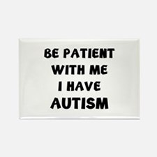 I have autism Rectangle Magnet (10 pack)