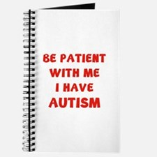 I have autism Journal