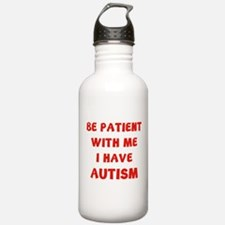I have autism Water Bottle