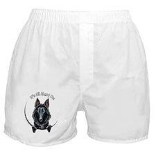 Belgian Sheepdog IAAM Boxer Shorts