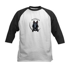 Belgian Sheepdog IAAM Logo Baseball Jersey