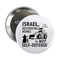 """Unique Anti israel 2.25"""" Button"""