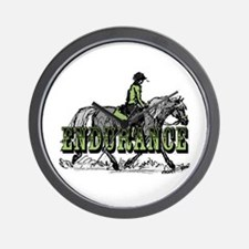 Endurance Horse Wall Clock