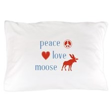 Moose Pillow Case