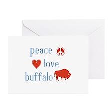 Buffalo Greeting Cards (Pk of 10)