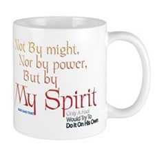 But by My Spirit Mug