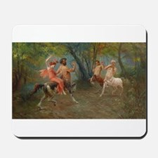 Centaurs in Love and War Mousepad
