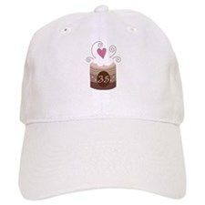 35th Birthday Cupcake Baseball Cap
