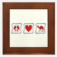 Camel Framed Tile