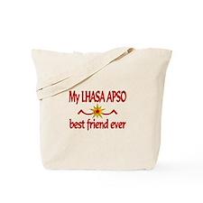 Lhasa Apso Best Friend Tote Bag